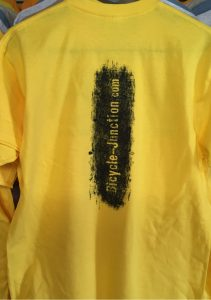 Bicycle Junction Yellow Shirt