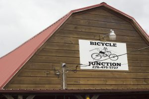 Bicycle Junction Damascus Virginia Sign