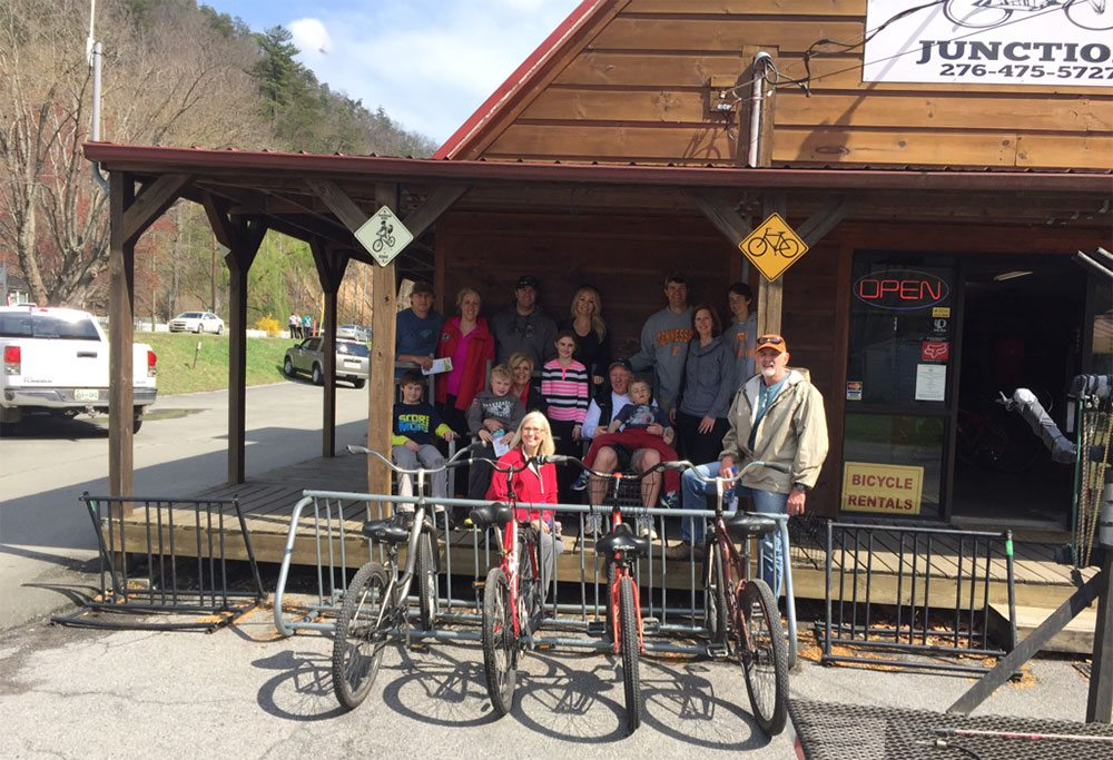 Bicycle Junction Virginia Creeper Trail Easter March 2016 Bike Ride